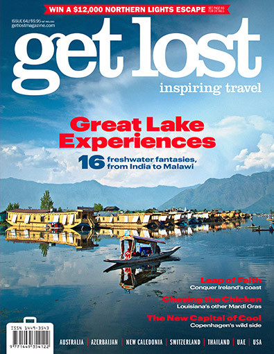 get lost magazine cover